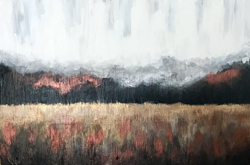 """Still Pastures"" | 17 1/2 x 26 3/8"