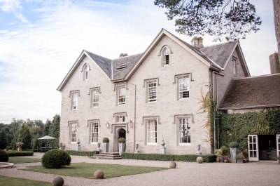 Hereford Lemore Manor wedding venue front