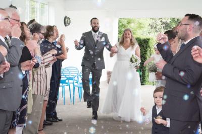 Gemma and Owen's Lido Swimming Pool Wedding