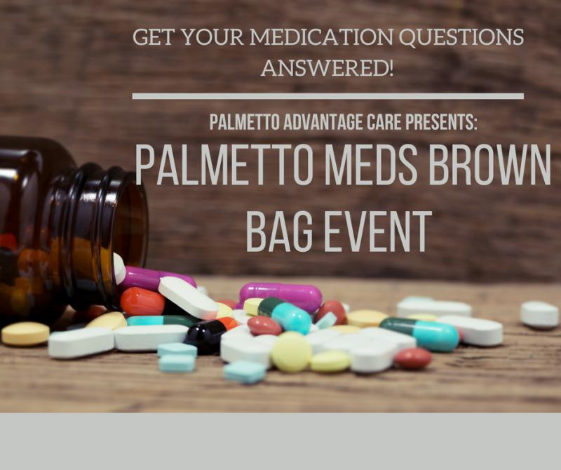 Palmetto Meds Brown Bag Event