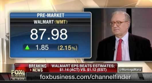 Walmart will start winning more online: Burt Flickinger