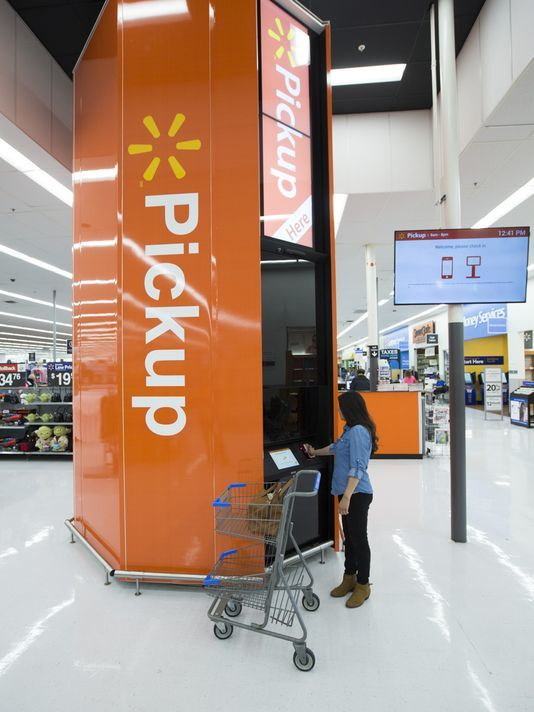 Salisbury Walmart adds high-tech pickup towers