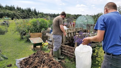 Compost Turning
