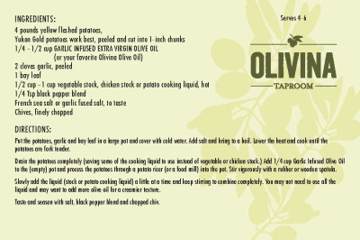 Olive Oil Mashed Potatoes - Dairy Free