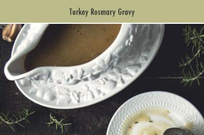 Turkey Rosmary Gravy