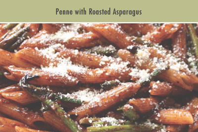 Penne with Roasted Asparagus