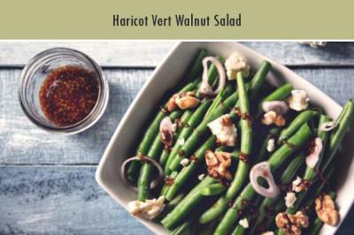 Haricot Vert Walnut Salad