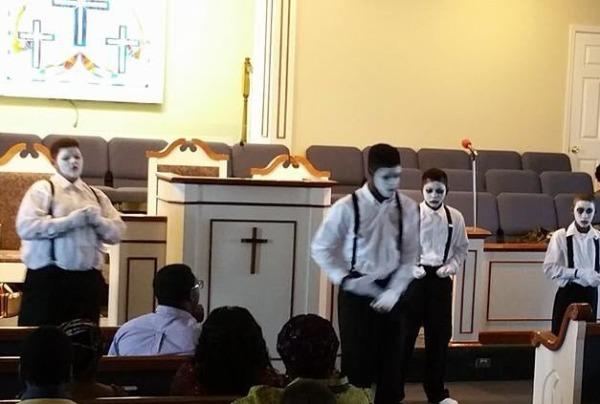 Trinity Full Gospel Mime Team