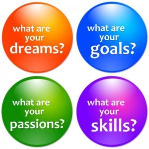 Personal development, setting goals