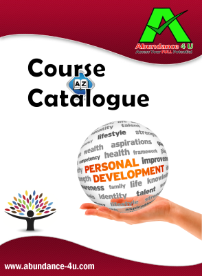 Personal development course catalogue