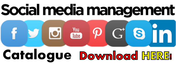Social media management campaign catalogue