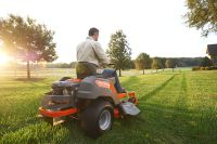Elite power equip mowers