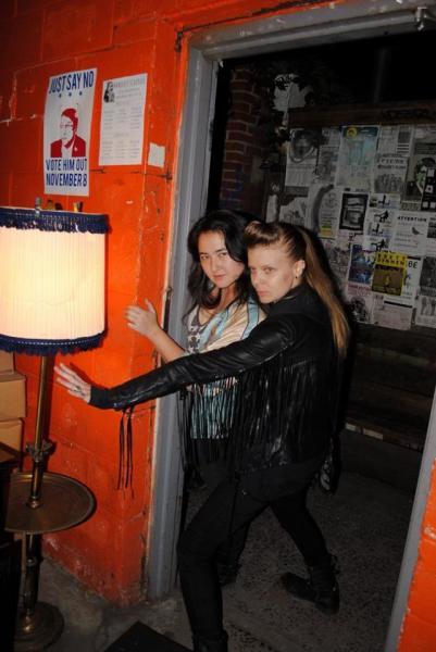 Sarah and Erika
