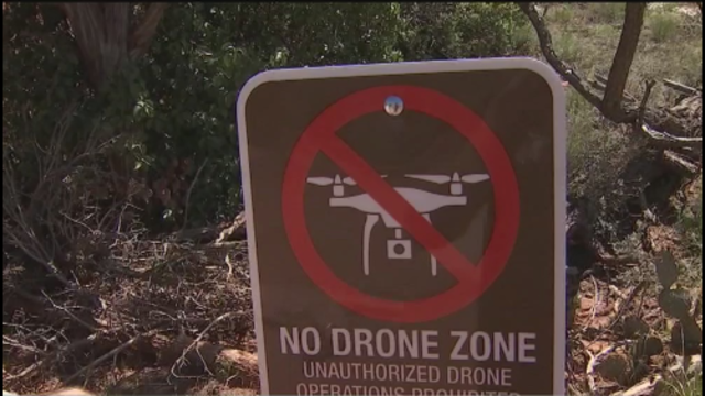 Pilot Obliterates Drone In The  Skies Above Beautiful Sedona, Arizona!!!!!   ?