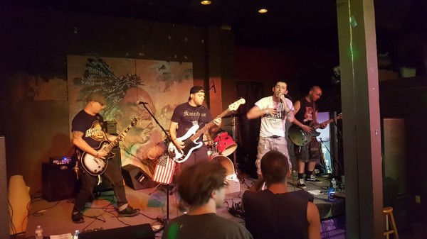 Last Call Hooligans at Savage Mountain Punk Festival 2016