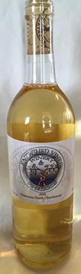 Oklahoma Peach Chardonnay