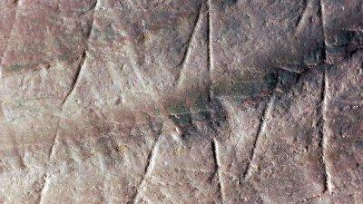 Oldest Human Engravings