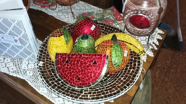 Glass Mosaic Fruit