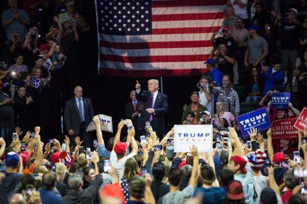 2016 Trump Everett Rally