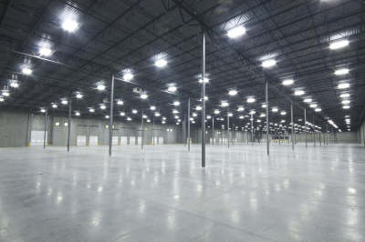 Industrial LED lighting example