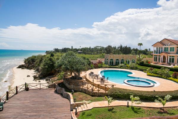 The pool Royal cliff  - Zanzibar
