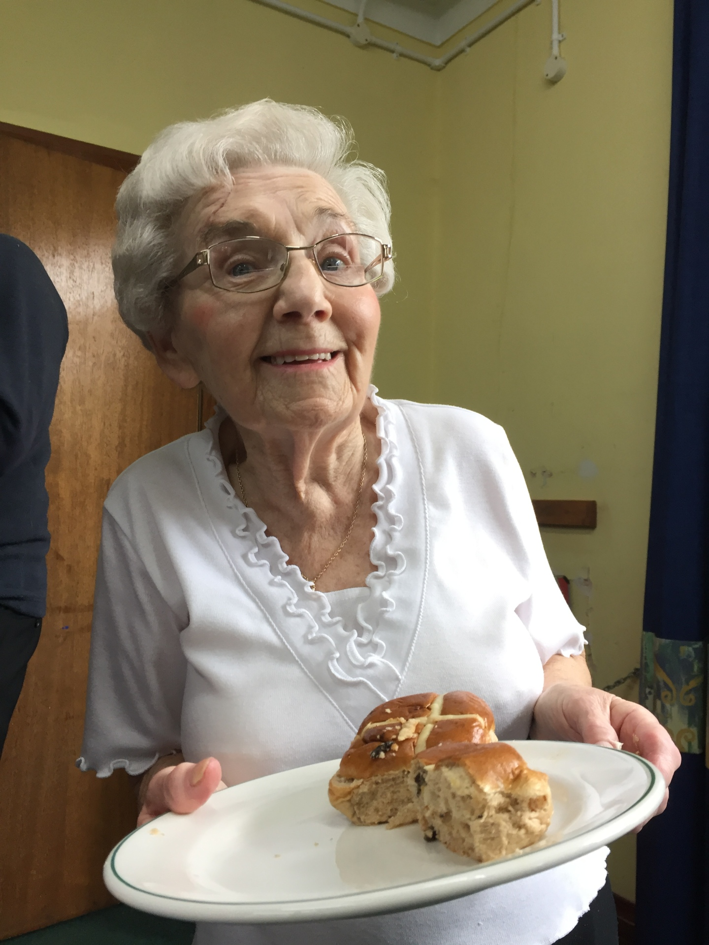 Back to the church hall for hot-cross buns