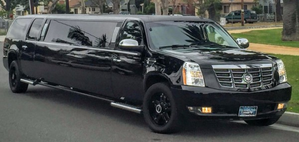 escalade limo, limo, escalade, SUV, stretch