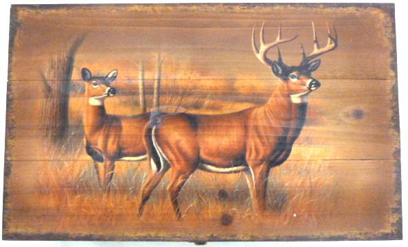 RA9959 Deer Wooden Box