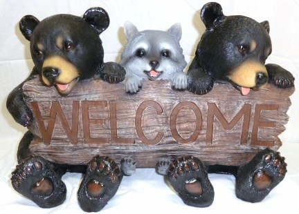 HD14895 Forest Pals Welcome