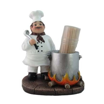HH45573 What's Cookin' Picks Toothpick Holder