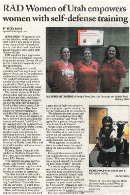 Davis County Clipper Article