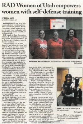 Davis County Clipper Article