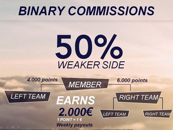 Binary Commissions!