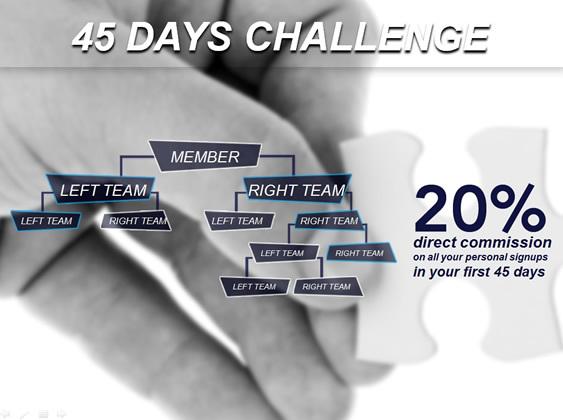 45 Days Challenge!