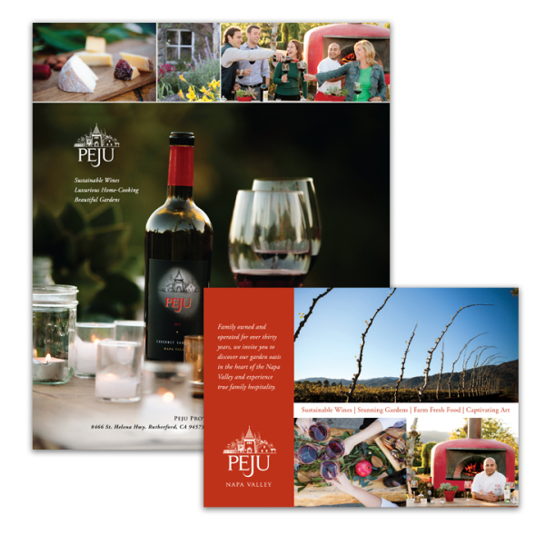California Home & Design and Where Magazine ads