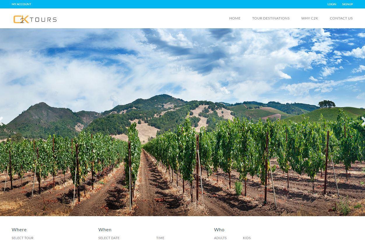C2kbiz.com     UI design, content management & logo design