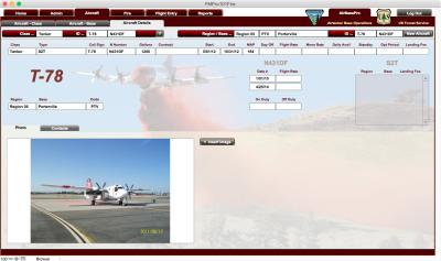 USFS AirBasePro Aircraft