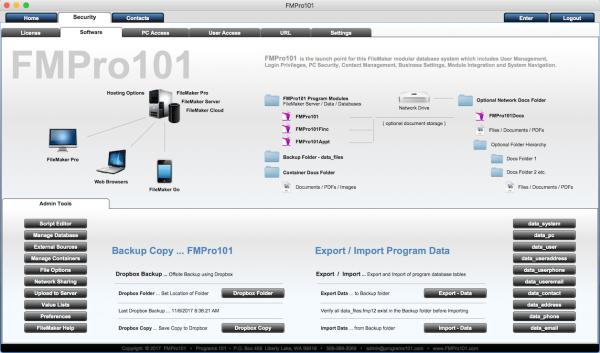 FMPro101-Software