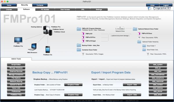 FMPro101 Security Module - Software