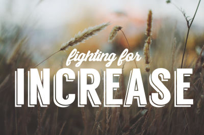 Fighting for Increase