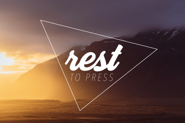 Rest To Press