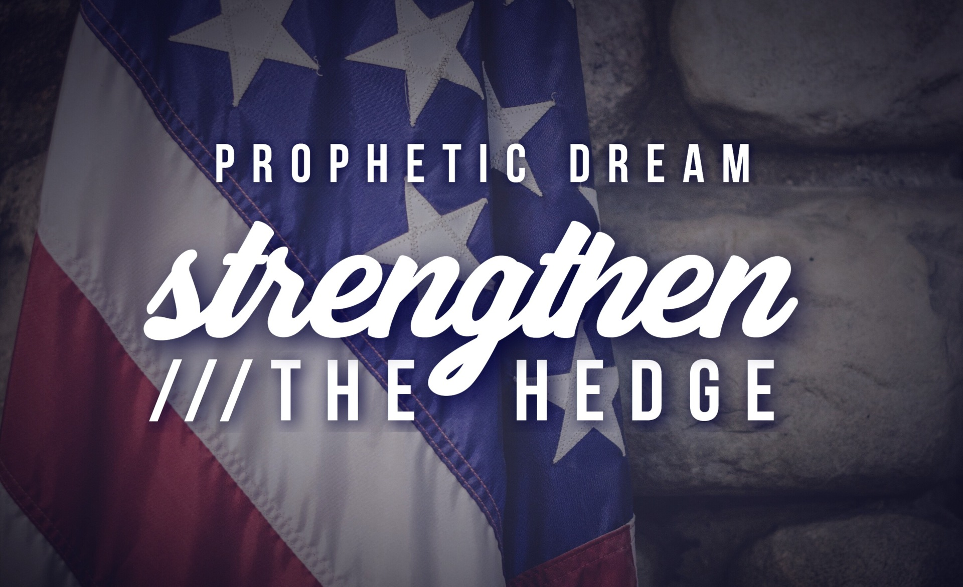 Strengthen The Hedge