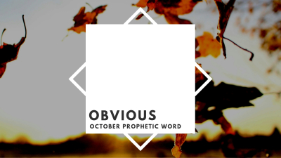 Obvious - October Word