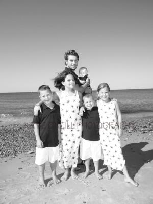 Buckingham grand kids at the beach!