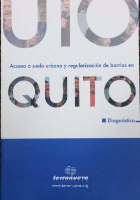 Acceso a suelo urbano y regularización de barrios en Quito