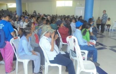 SOCIALIZACION DE LA ORDENANZA DE PARTICIPACION CIUDADANA Y SEGUIMIENTO DE AGENDA BARRIAL