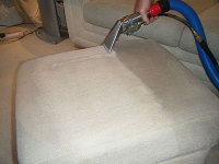 Upholstery Cleaning Process.