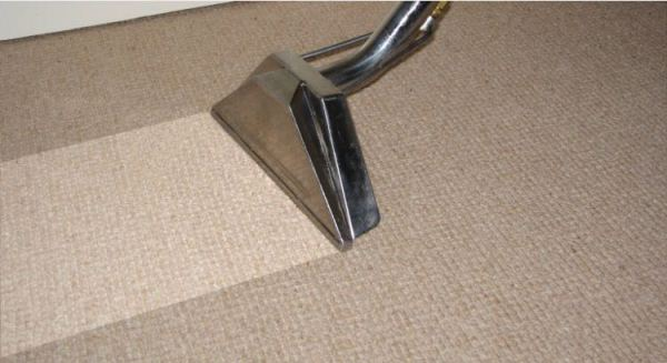 Example of Carpet Steam Extraction