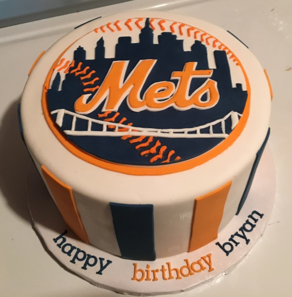 custom cakes nj NY Mets Cake