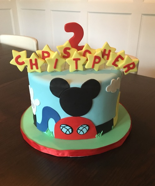 custom cake nj mickey mouse clubhouse inspired birthday cake